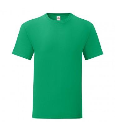 Мужская футболка однотонная зеленая 430-47