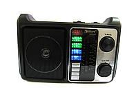 Портативная колонка радио MP3 USB Golon RX-333+BT c Bluetooth Wooden