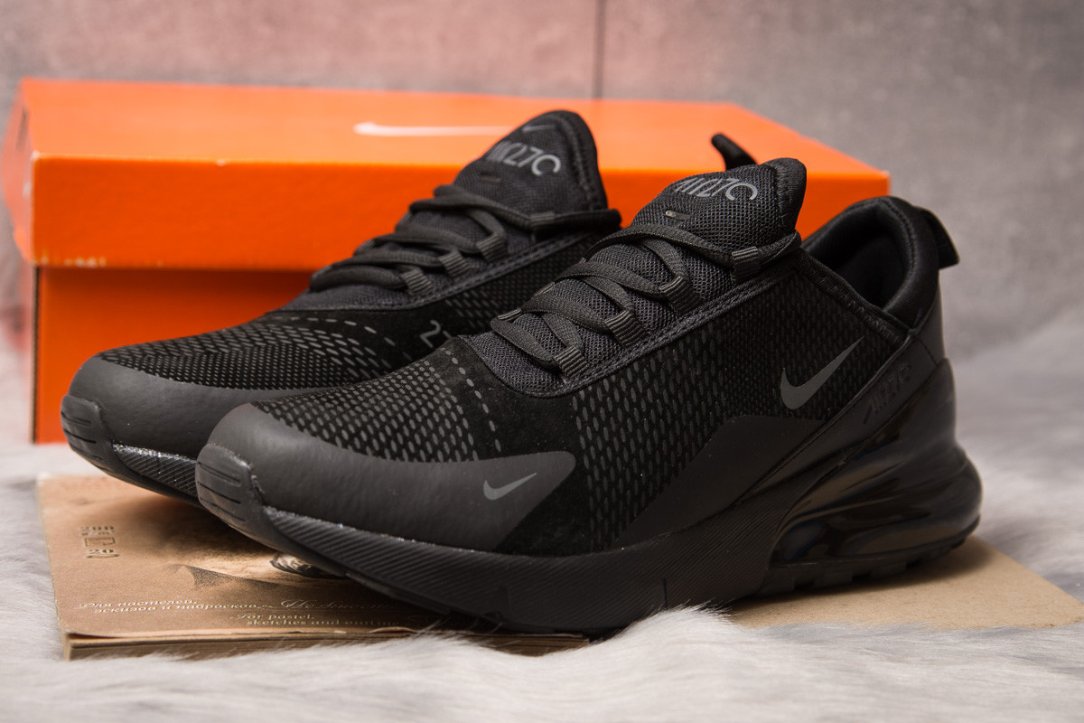 Кроссовки мужские Nike Air 270, черные (15301) размеры в наличии ►(нет на складе), фото 1