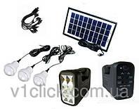 Портативная универсальная солнечная система GDLITE GD-8017A