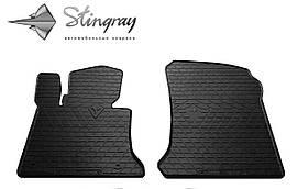 Передние резиновые коврики Mercedes-Benz X204 GLK 2008- (2-шт) Stingray 1012332