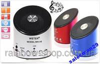 Мини USB портативная MP3 колонка радио WS-09