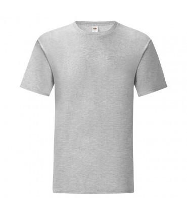 Мужская футболка однотонная светло серая 430-94