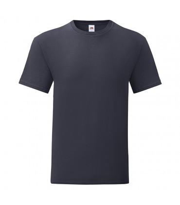 Мужская футболка однотонная темно синяя 430-АЗ
