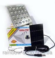 Светодиодная лампа GD-025 с солнечной панелью
