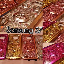 Чехол Аквариум для Samsung s7