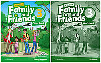 Family and friends 3 (2-edition) Комплект (Учебник + Тетрадь) Ч\Б Копия!