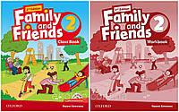 Family and friends 2 (2-edition) Комплект (Учебник + Тетрадь) Ч\Б Копия!
