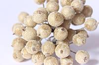 Сахарные ягодки 38-40 ягод/уп. золотистого цвета
