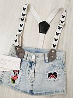 Детский джинсовый сарафан  размер 68,74 (6,9 месяцев) (Турция)