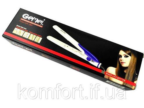 Утюжок выпрямитель для волос Gemei GM1954, фото 2