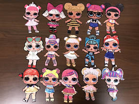 Нашивки Куклы Лол | Doll LoL