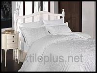 Постельное белье First choice сатин семейный размер Sweta beyaz (kod 3962)