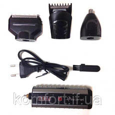 Электрическая бритва Gemei GM 789, 3 насадки, фото 2