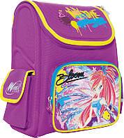 Ранец каркасный школьный 1 вересня №551673 Winx Винкс (29*13*34см) фиолетовый для девочки