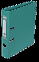 Папка-регистратор Buromax Elite А4 PVC 50 мм бирюзовый