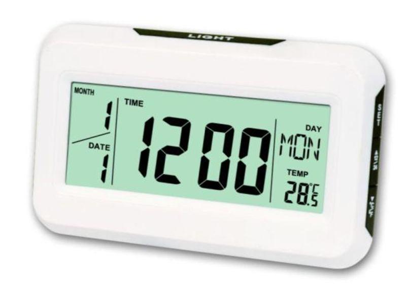 Електронні годинники KK-2616 з термометром і підсвічуванням