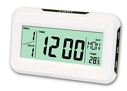 Электронные часы KK-2616 с термометром и подсветкой