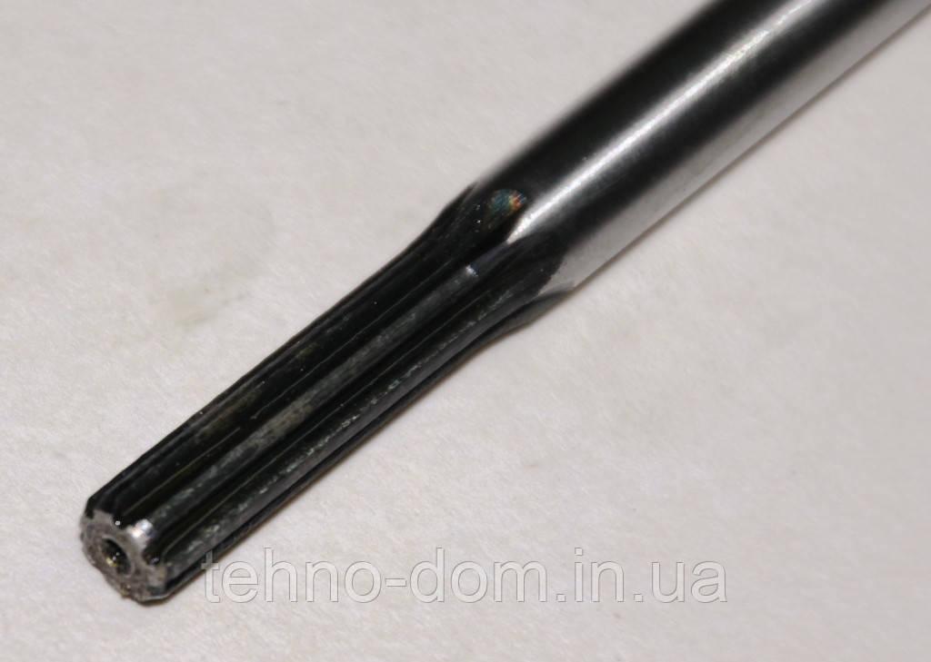 Вал на косу L-152.5 см,  7*7 шлицов, d=7 mm