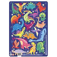 Картонные пазлы в рамке Динозавры / Пазл в рамці Динозаври (53 дет.), Додо / Dodo