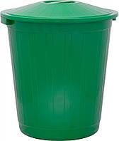 Бак для мусора 50л Ал-пластик Ал