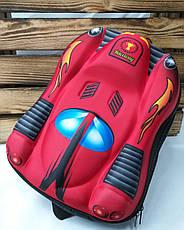 """Детский каркасный рюкзак """"Машина"""", регулируемые лямки , фото 3"""