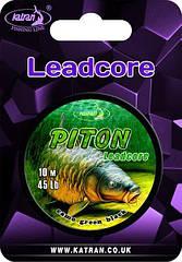 Лидкор Katran PITON камуфляж зеленый 45lb 10 m