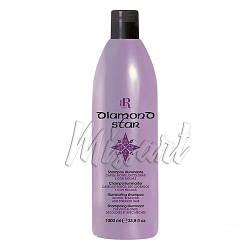 Шампунь для обесцвеченных и мелированных волос Diamond Star RR Line 1000 мл