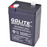 Аккумулятор 6 вольт 4 ампер GD 645 (6V 4.0Ah) GDLITE