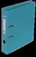 Папка-реєстратор Buromax Elite А4 PVC 50 мм блакитний