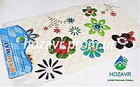 Детский коврик на присосках 3D (цветы) K0054