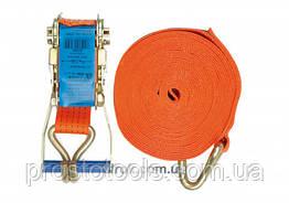 Ремень для крепления груза с трещоткой VOREL 1600/4000 daN 4 м х 50 мм