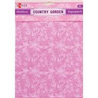 Бумага для декупажа творчества Country garden 2 листа 40*60см 952515