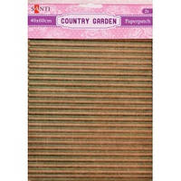Бумага для декупажа творчества Country garden 2 листа 40*60см 952519