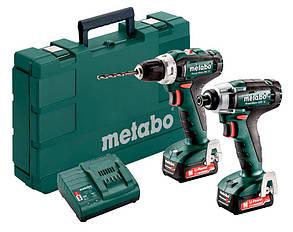 Набор Metabo Combo Set 2.7.1 12 V + 2 акб 12 V 2 Ah + з/у + кейс (685166000)