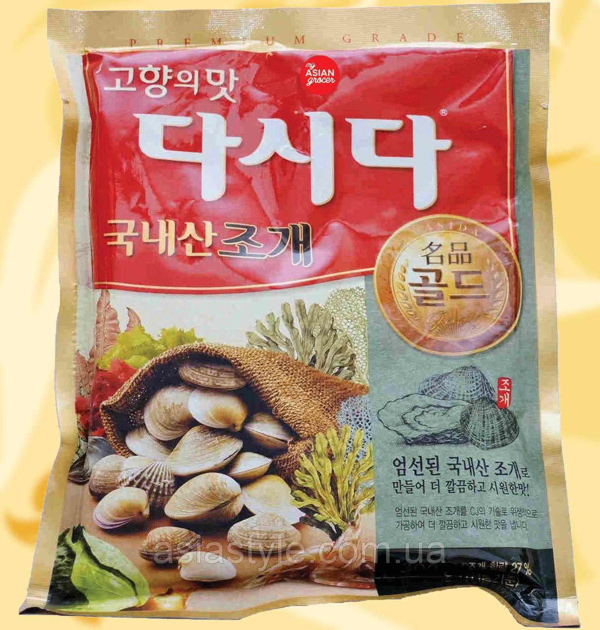 Приправа з молюсків, Дашіда, Корея, Бульйон з морепродуктів, 500г, СтВоЧЮм