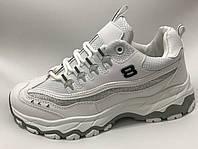 Кроссовки белые Skechers