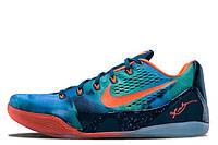 Мужские кроссовки Nike Zoom Kobe 9 Orange Blue размер 44 (Ua_Drop_111466-44)