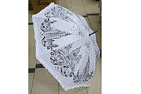Зонт рисунок рюши 628 трость