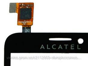 Тачскрин (сенсор) Alcatel 7015, black (чёрный), фото 2