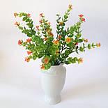 Букет самшит квітучий різнобарвний , 35см (20 шт в уп.), фото 3