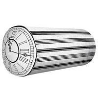 Подушка-валік Годинник з римськими літерами