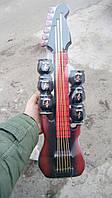 Бутылка - гитара + 6 стопок, размер 52 х 15 см.