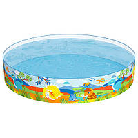 Бассейн детский круглый надувной Bestway 55022