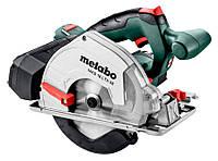 Аккумуляторная дисковая пила по металлу Metabo MKS 18 LTX 58 без АКБ (600771890)