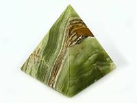 """Пирамида из натурального камня """"Оникс""""(10 шт/уп)"""