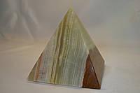 """Пирамида из натурального камня """"Оникс"""" 7.5 см"""