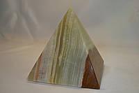 """Пирамида из натурального камня """"Оникс"""" (8 см)"""