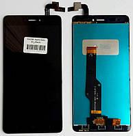 Экран + сенсор (модуль) для Xiaomi Redmi Note 4X + touchscreen, черный