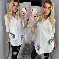 Рубашка туника  женская  Валентина, фото 1